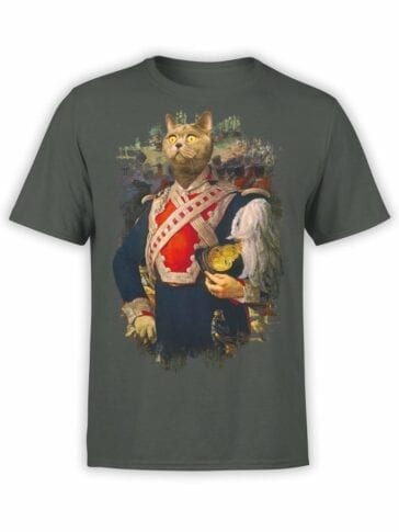 0012 Cat Shirts Colonel Du Cat