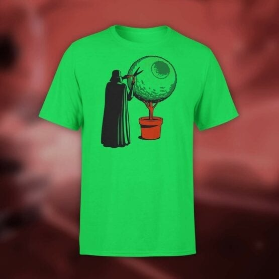 "Star Wars T-Shirt ""Darth Grass"". Shirts."
