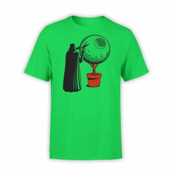 "Star Wars T-Shirt ""Darth Grass"". Mens Shirts."