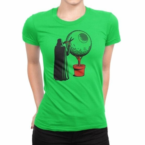 "Star Wars T-Shirt ""Darth Grass"". Womens Shirts."