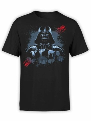 "Star Wars T-Shirt ""Darth Vader"". Mens Shirts."