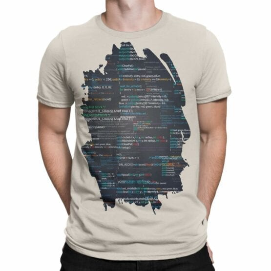 "Programmer T-Shirts ""I Love Coding"". Mens Shirts."