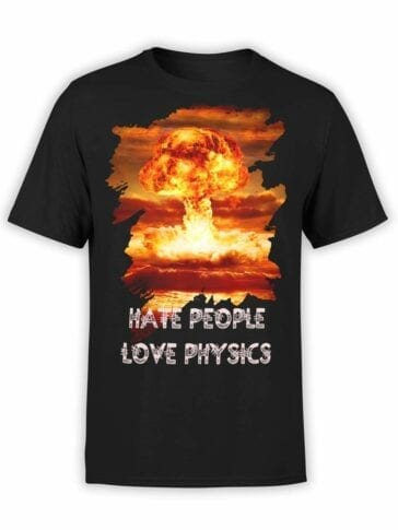 "Physics T-Shirts ""Nuclear"". Mens Shirts."