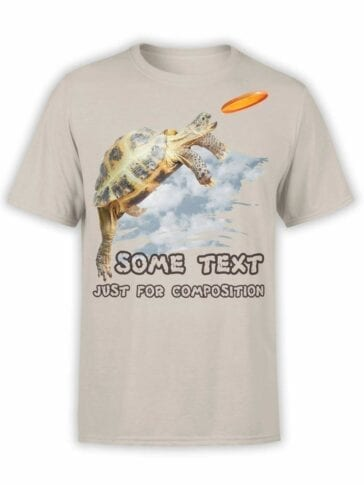 "Funny T-Shirts ""Some Text"". Mens Shirts."