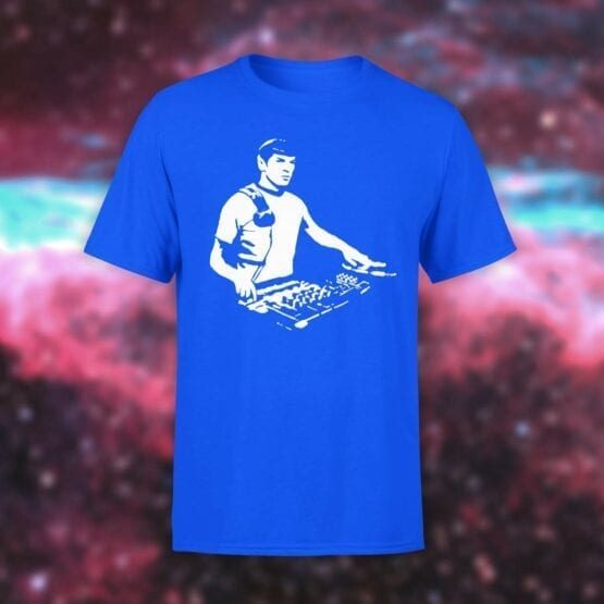 "Star Trek T-Shirt ""DJ Spock"". Shirts."