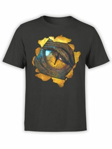 0172 Lord of the Rings T Shirt Smaug Front