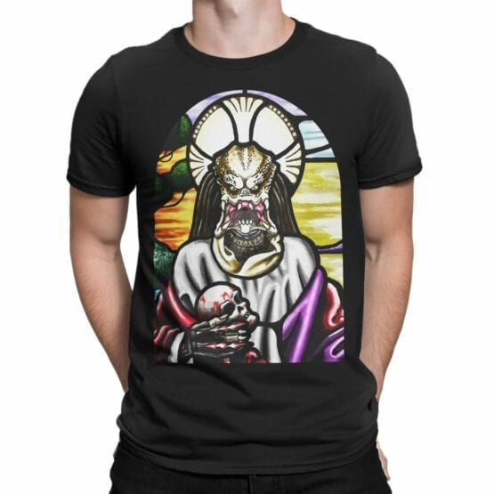 """Funny T-Shirts """"Alien Religion"""". Cool Shirts."""