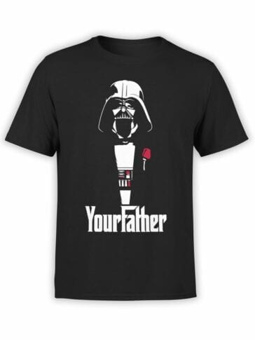 """Star Wars T-Shirt """"Your Father"""". Funny T-Shirts."""