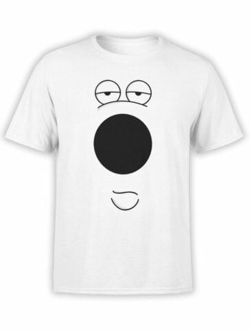 """Family Guy T-Shirts """"Brian Griffin"""". Cool T-Shirts."""