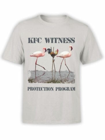 "Funny T-Shirts ""KFS Witness"". T-Shirts."