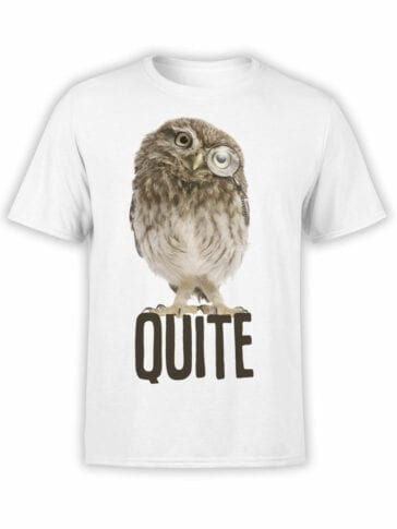 "Funny T-Shirts ""Quite"". Cool T-Shirts."