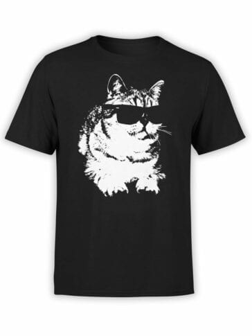 "Cat T-Shirts ""Deal With It"" Funny T-Shirts"