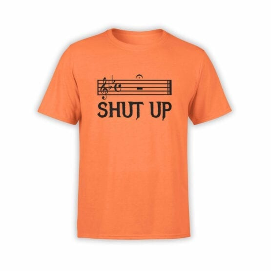 "Funny T-Shirts ""Shut Up"". Cool T-Shirts."
