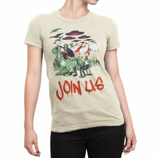 "Funny T-Shirts ""Join Us"". Cool T-Shirts."