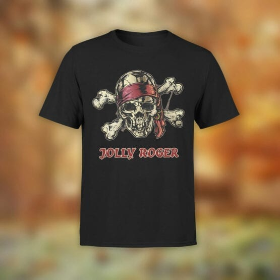 """Pirate T-Shirt """"Jolly Rogers"""". Cool T-Shirts."""