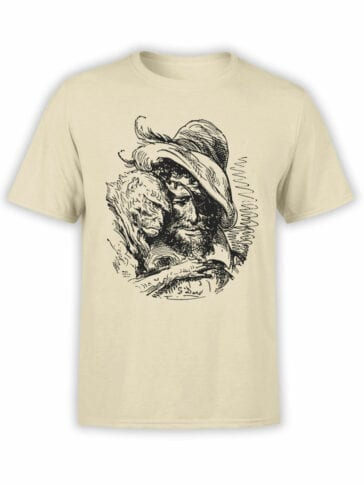 "Pirate T-Shirt ""Pirate and Monkey"". Cool T-Shirts."
