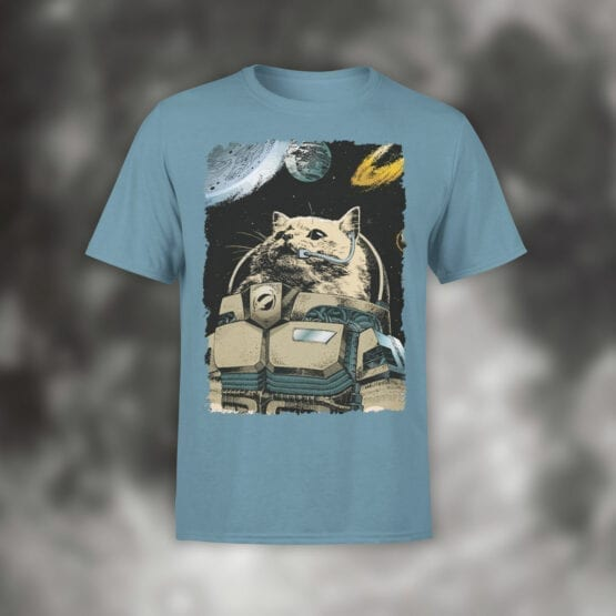 """Cat Shirts """"Cosmo Cat"""". Cool T-Shirts."""