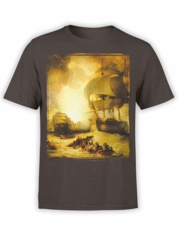 "Cool T-Shirts ""The Battle of the Nile"" George Arnald"
