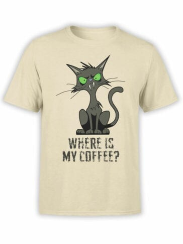 "Funny T-Shirts ""Coffee"". Cool T-Shirts."