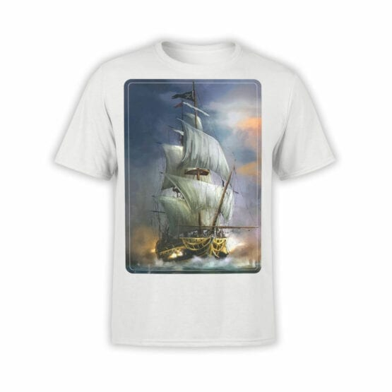"Pirate T-Shirt ""Pirate Ship"". Cool T-Shirts."