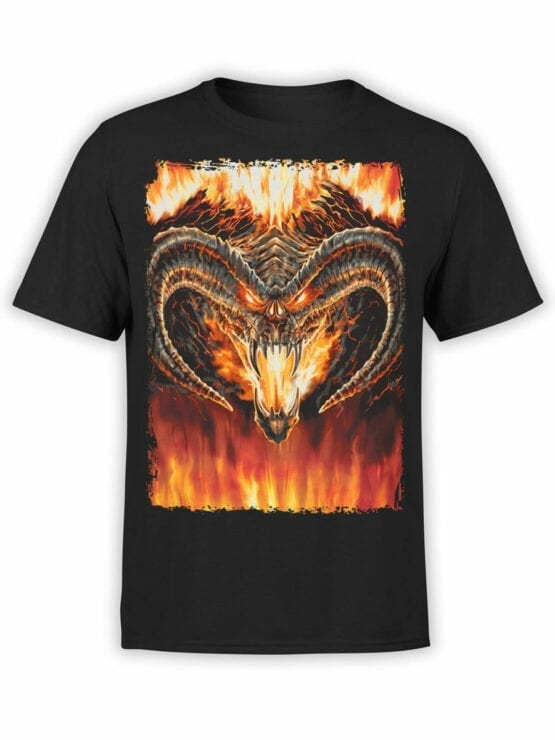 0360 Lord of the Rings T Shirt Balrog Front