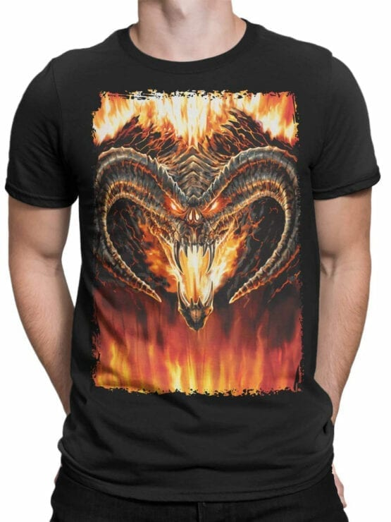 0360 Lord of the Rings T Shirt Balrog Front Man