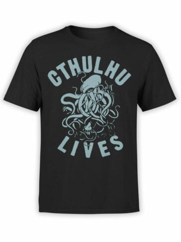 "Cool T-Shirts ""Cthulhu Lives"""