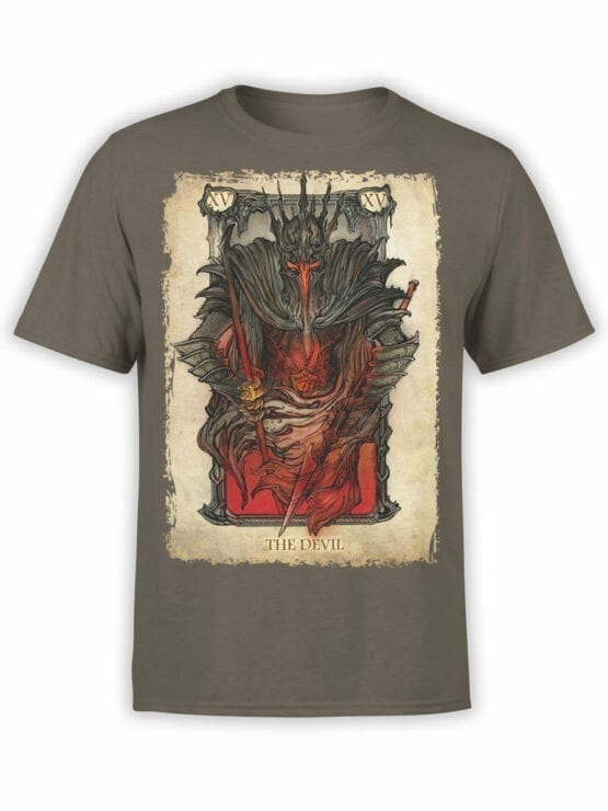 0389 Lord of the Rings T Shirt The Devil Front