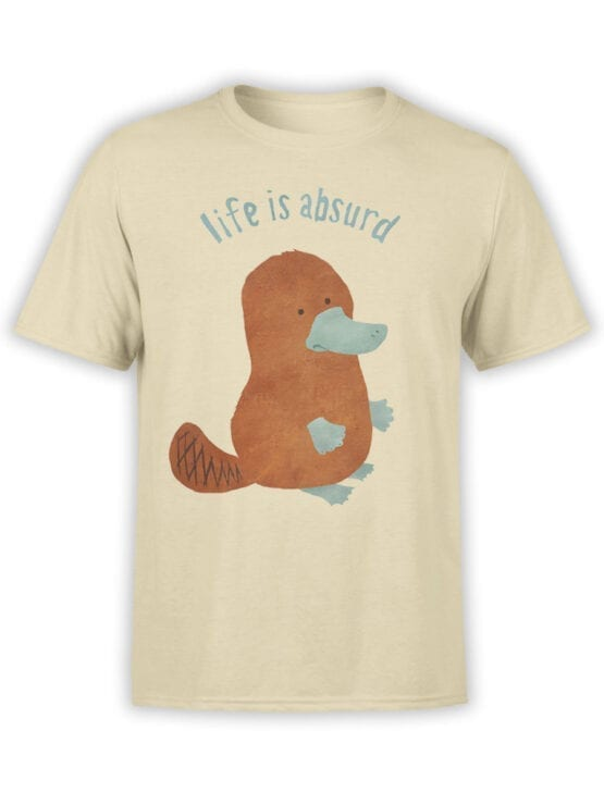 """Funny T-Shirts """"Life Is Absurd"""""""