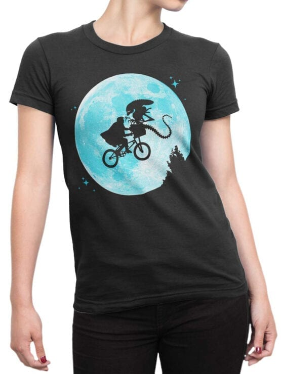 """Funny T-Shirts """"Aliens and E.T."""""""