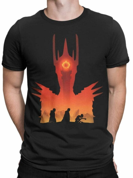 Lord of the Rings T Shirt Mordor Front Man