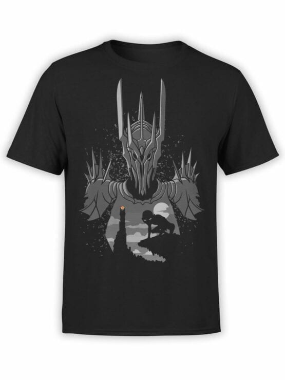 Lord of the Rings T Shirt Sauron Front