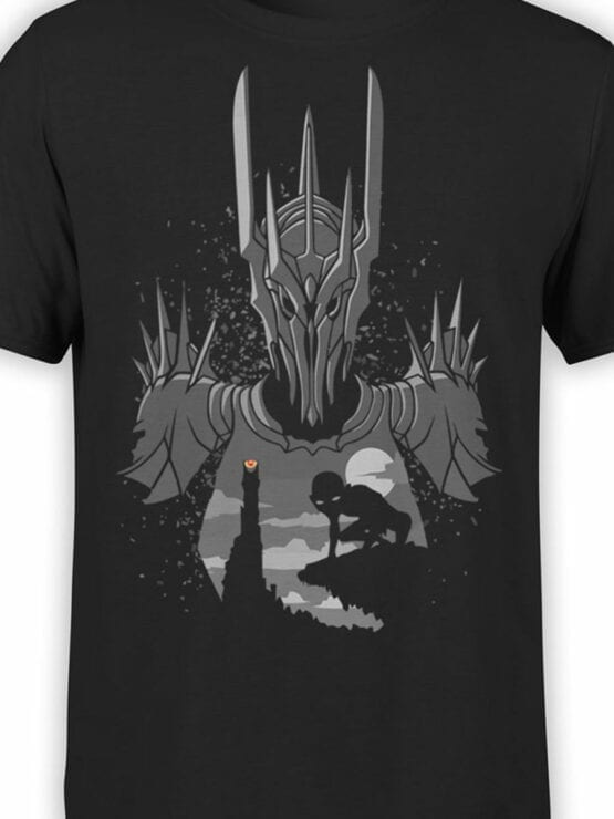 Lord of the Rings T Shirt Sauron Front Color