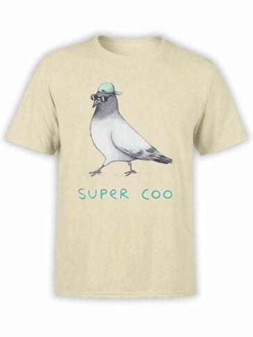 0491 Pigeon Shirt Super Coo