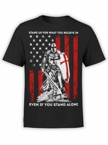 0507 Knight T-Shirt Stand Alone