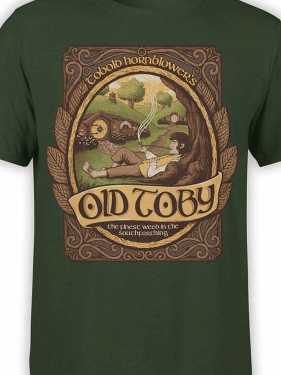 0508 Lord of the Rings Shirt Old Toby Front Color 1