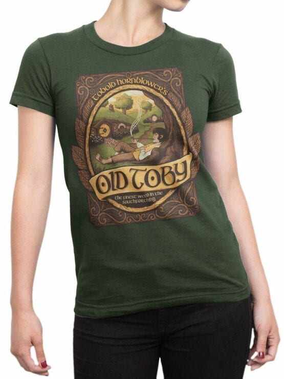 0508 Lord of the Rings Shirt Old Toby Front Woman 1