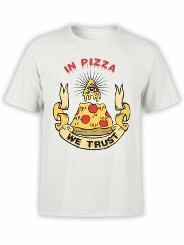 0518 Pizza T-Shirt We Trust