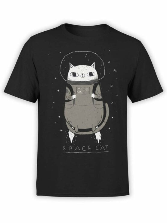 0526 Cat Shirts Space Cat