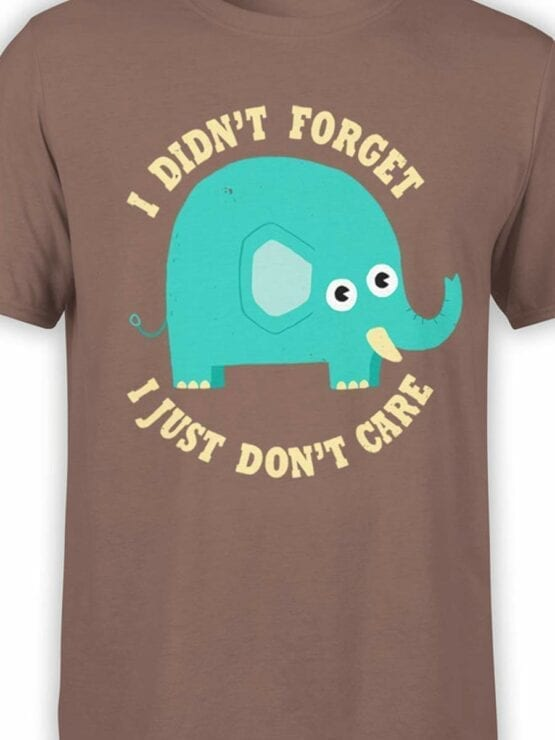 0539 Elephant Shirt Don't Care