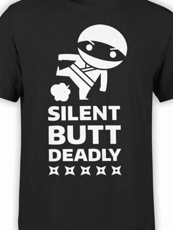 0543 Warriors Shirt Silent Ninja