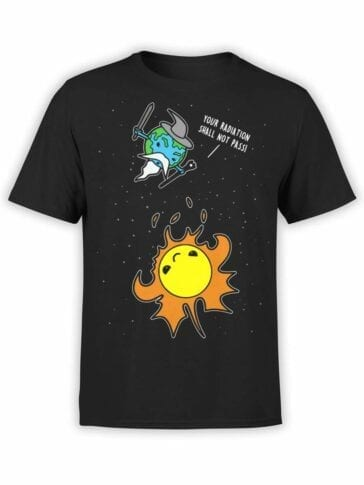 0559 Lord of the Rings Shirt Not Pass_Front