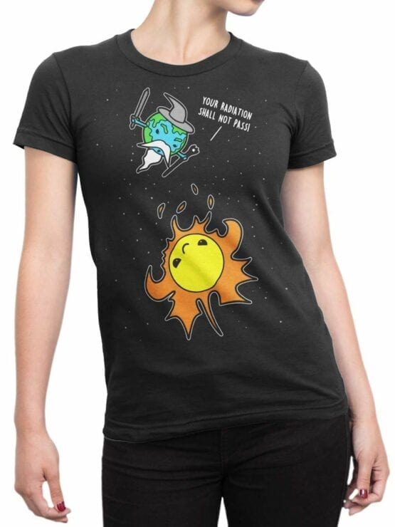 0559 Lord of the Rings Shirt Not Pass_Front_Woman