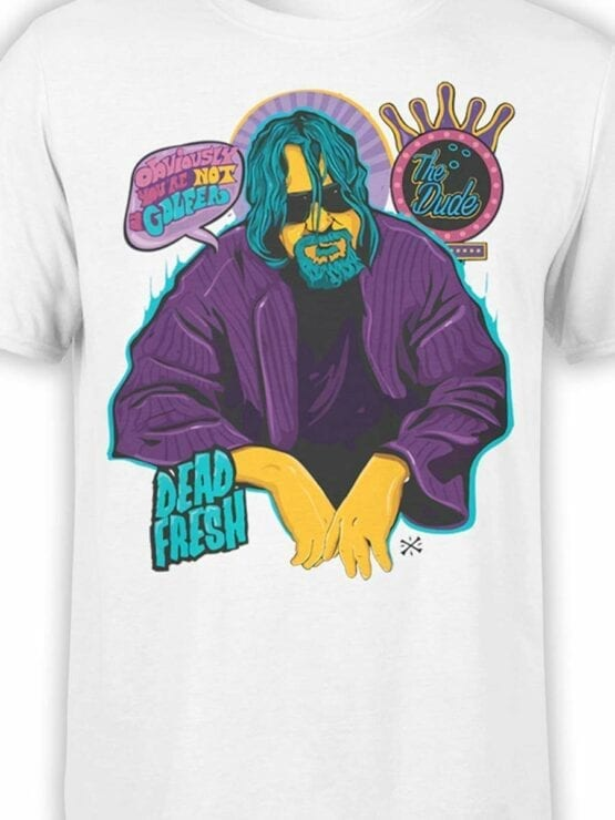 0573 Big Lebowski T-Shirt Obviously_Front_Color