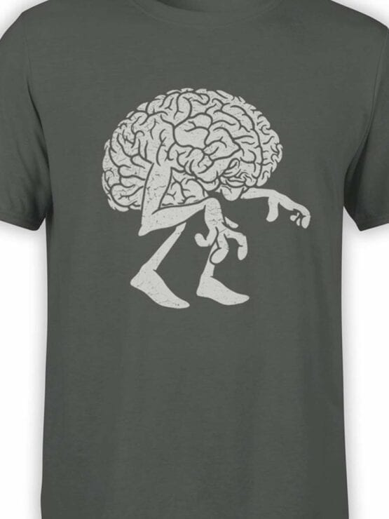 0578 Monster Shirts Zombie Brain_Front_Color