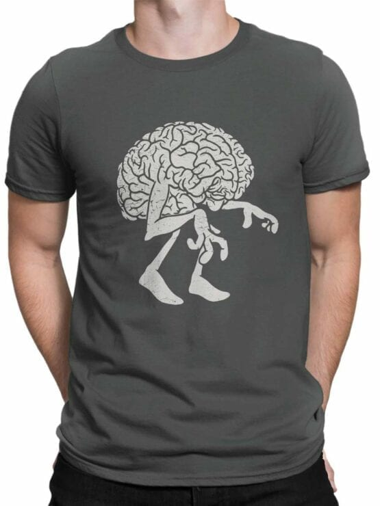 0578 Monster Shirts Zombie Brain_Front_Man