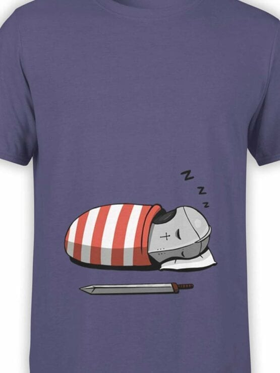 0583 Knight Shirt Sleeping Knight_Front_Color