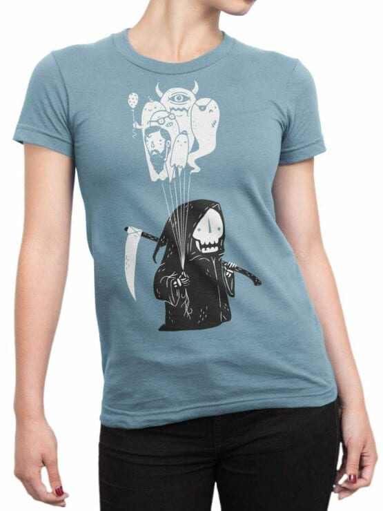 0599 Skull Shirt Soul Collector_Front_Woman