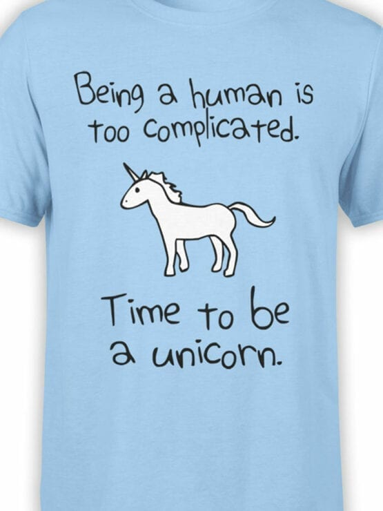0612 Unicorn Shirt Time To Be_Front_Color