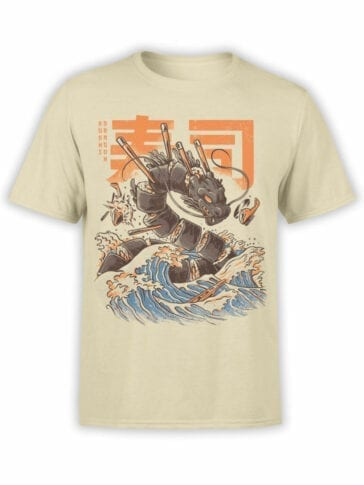 0614 Dragon Shirt Great Sushi Dragon_Front